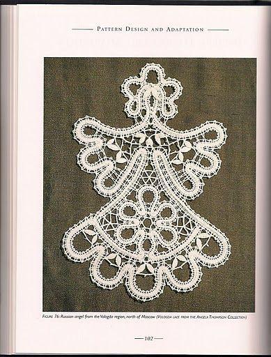 Книга по вязанию румынского кружева